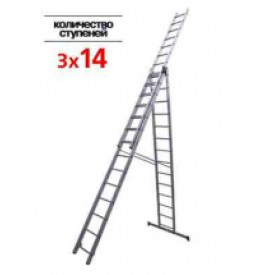 Лестница 3-х секц.3х14 ступ. 97824 негабаритный груз