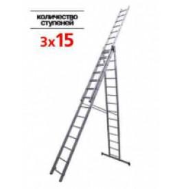 Лестница 3-х секц.3х15 ступ./негабаритный груз