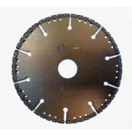 Диск алмазный 125х22 сегм.   WDC/металл