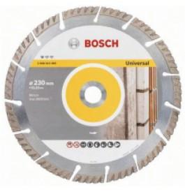 Диск алмазный 230х22 сегм/турбо арм.бетон BOSCH Standard for Universal /2.608.615.065/