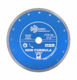 Диск алмазный 230х22 турбо TRIO-DIAMOND/бетон , кирпич