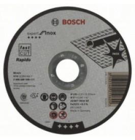 Круг отрезной 125х1,0х22 BOSCH Expert металл+нерж /2.608.600.549