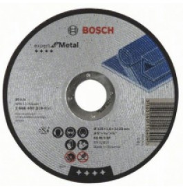 Круг отрезной 125х1,6х22 BOSCH Expert металл /2.608.600.219