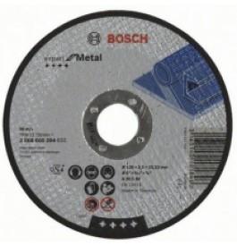 Круг отрезной 125х2,5х22 BOSCH Expert металл /2.608.600.394